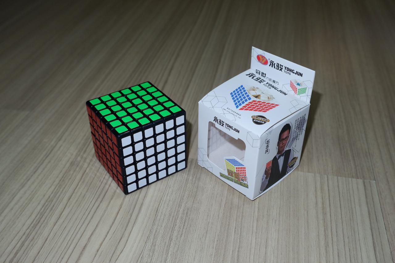 YJ GuanShi 6x6x6 Black