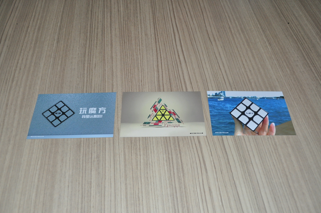 Qiyi CFOP Card สูตรเล่นรูบิค 3x3 แบบ CFOP