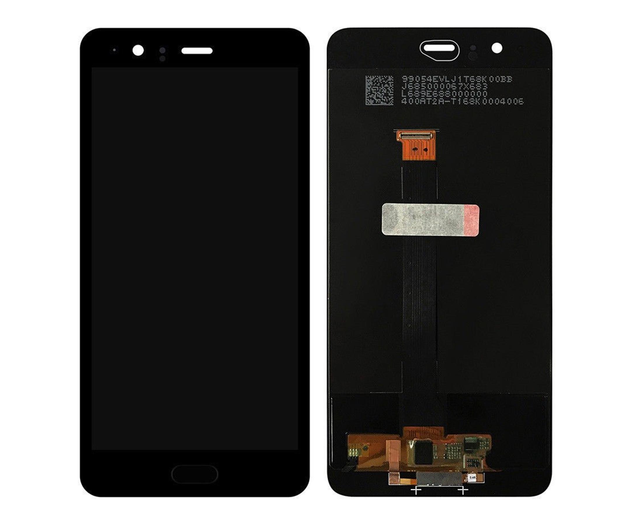 ราคาหน้าจอชุด+ทัชสกรีน Huawei P10 Plus อะไหล่เปลี่ยนหน้าจอแตก ซ่อมจอเสีย สีดำ