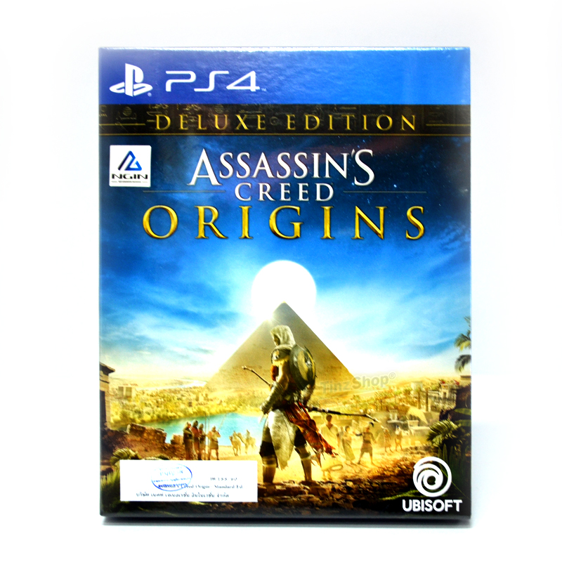 PS4™ Assassin's Creed Origins (Deluxe Edition) Zone 3 Asia, English ราคา 2090.- // ส่งฟรี