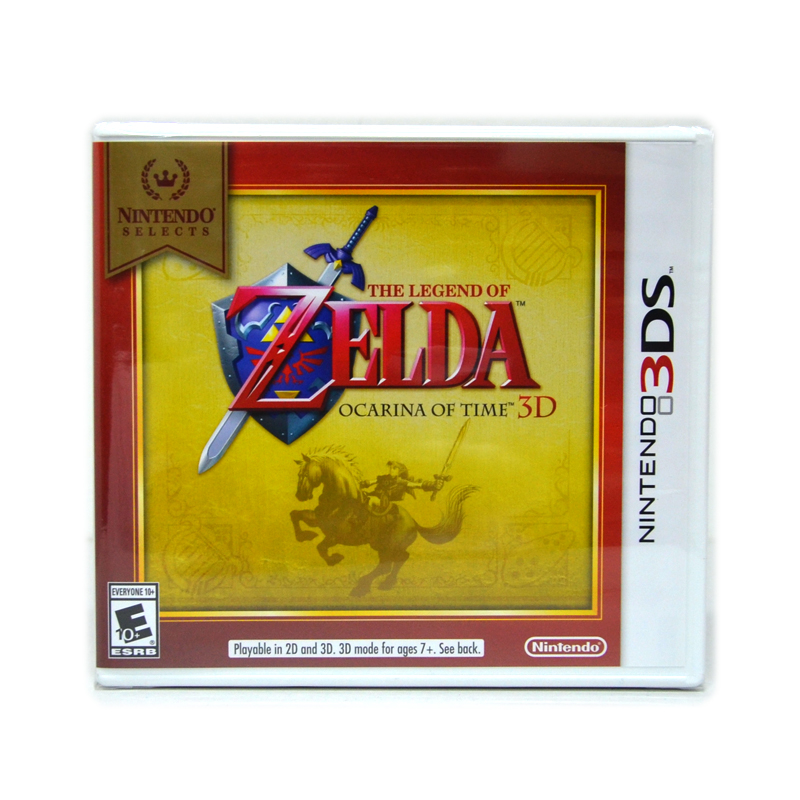 3DS™ &#x265B&#x265B The Legend of Zelda Ocarina of time 3D 【Nintendo Selects】 Zone US / English (หายาก น่าเก็บสะสม)