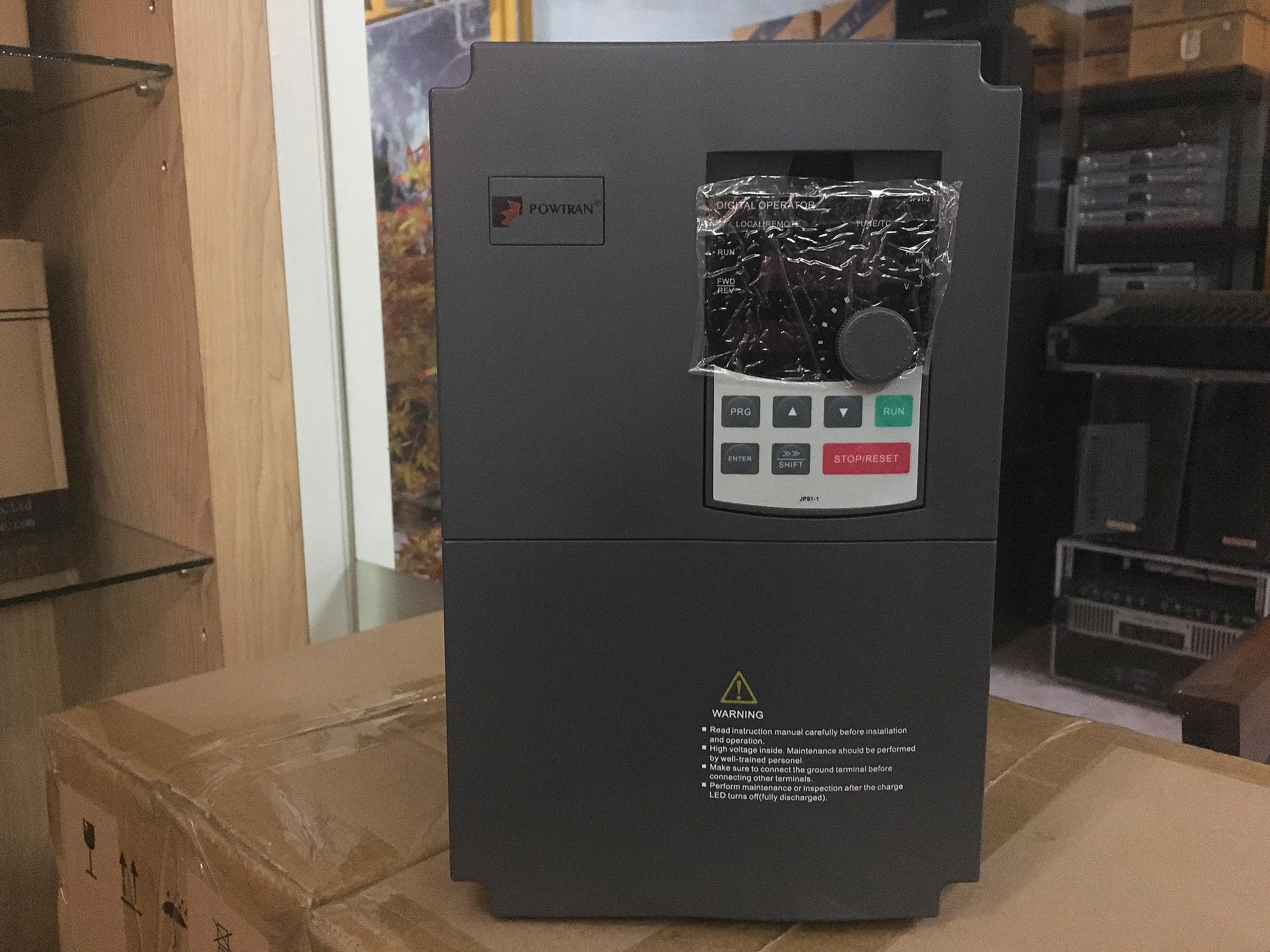 Inverter Sine wave 4KW 5.5HP 220/380V อินเวอเตอร์ 5.5 แรง ใช้ได้กับโซล่าเซลล์และมอเตอร์ทุกชนิด