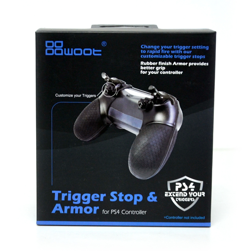 Dowoot™ Trigger Stop & Armor For PS4 Grip สำหรับจอย PS4