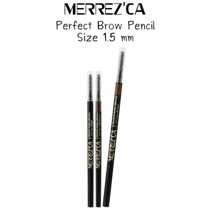 ดินสอเขียนคิ้วเมอร์เรซก้า merrez'ca ราคาแท่งละ 120 บาท ขายเครื่องสำอาง อาหารเสริม ครีม ราคาถูก ของแท้100% ปลีก-ส่ง