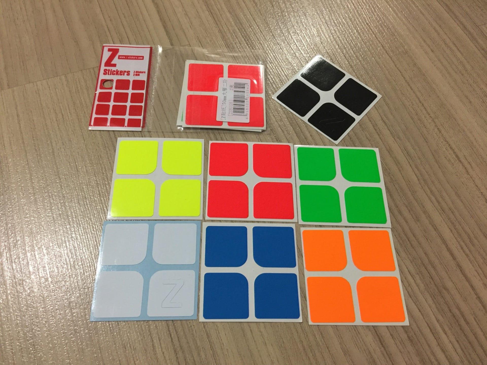 Z-Stickers Z-Bright for 2x2x2 [ZS5028]