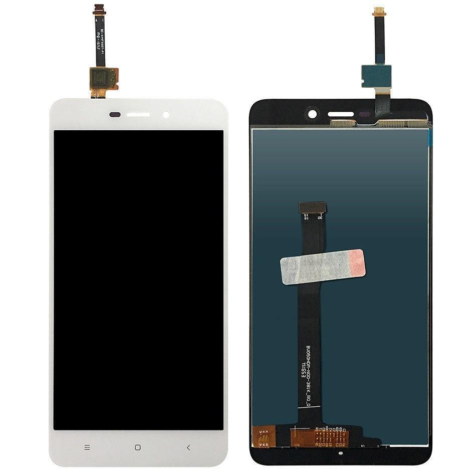 ราคาหน้าจอชุด+ทัสกรีน Xiaomi Redmi 4A อะไหล่เปลี่ยนหน้าจอแตก ซ่อมจอเสีย สีขาว