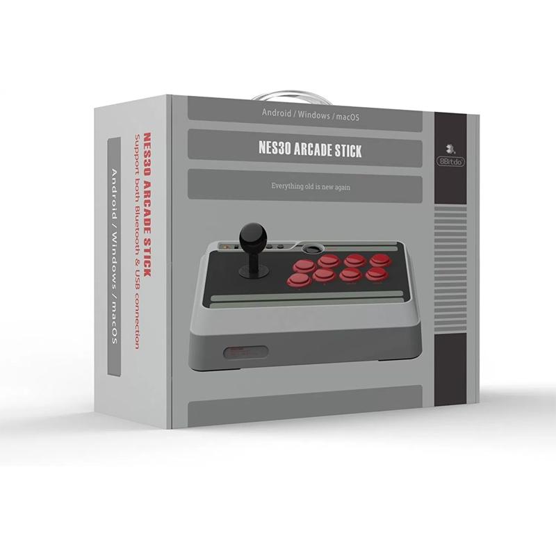 ++ จอยอาเขตสติก ++ 8Bitdo NES30 Arcade Stick ราคา 2990.-