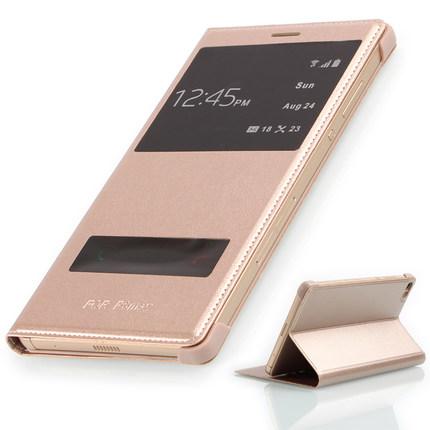 (พรีออเดอร์) เคส Huawei/P8 Max-เคสฝาพับแบบมีช่อง