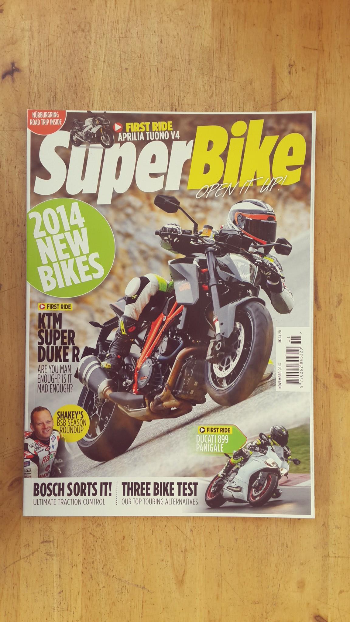 SUPERBIKE MAGAZINE : NOVEMBER 2013