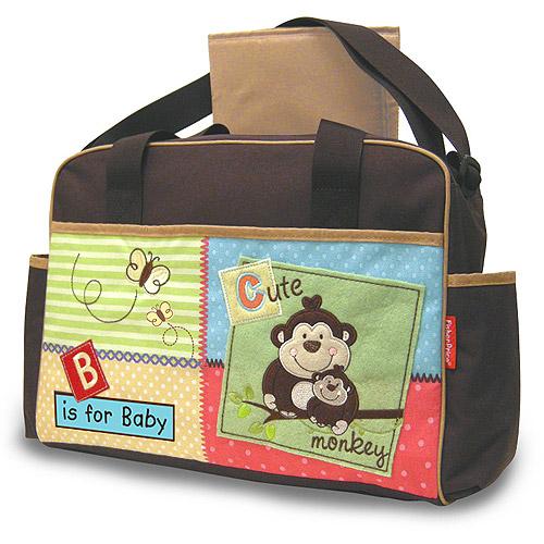 กระเป๋าใส่สัมภาระลูกน้อย กระเป๋าผ้าอ้อม Fisher-Price