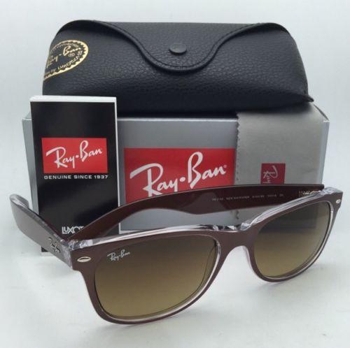 Ray Ban New Wayfarer RB2132 6145/85 55mm Brown Gradient