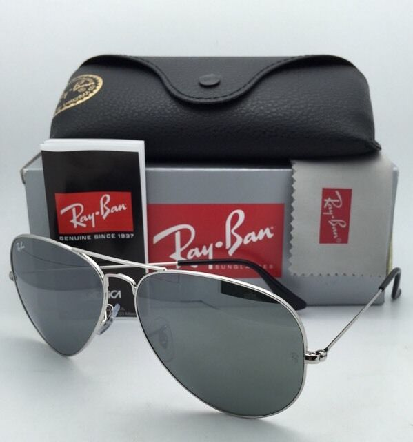 Ray Ban Aviator RB3025 003/40 Grey Silver mirror 62mm