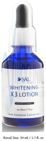 SAL Whitening X3 Lotion (50ml)