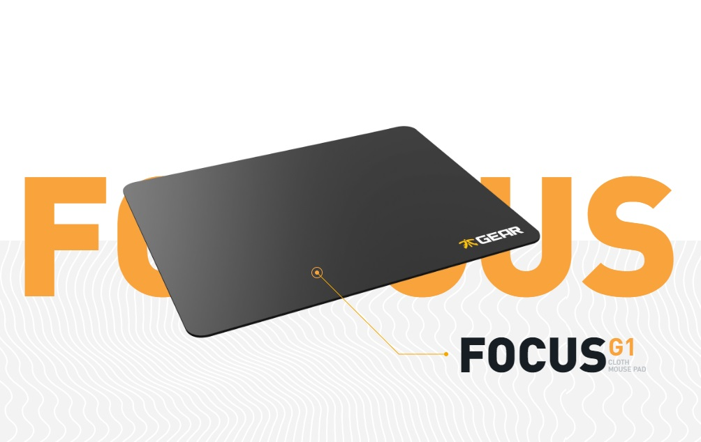 Fnatic Gear, Focus Gaming Mousepad Desktop (D)