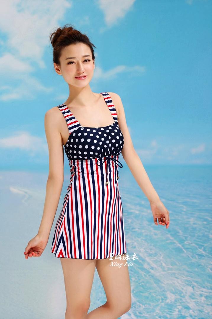 ชุดว่ายน้ำ วันพีช Fairy-Dressy Red