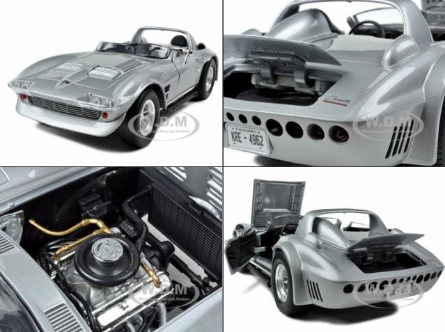 โมเดลลรถ โมเดลรถเหล็ก โมเดลรถยนต์ dom corvette
