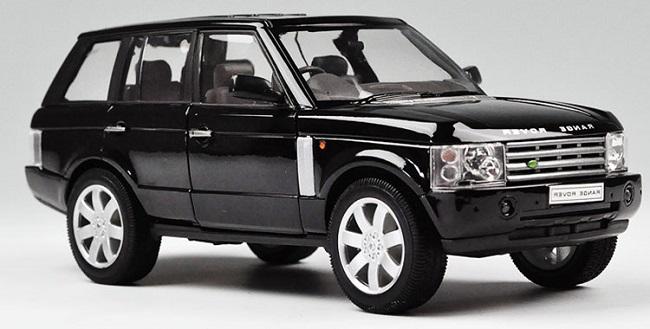 ขาย พรีออเดอร์ โมเดลรถเหล็ก โมเดลรถยนต์ Land Rover administrative version ดำ 1:24 มีโปรโมชั่น