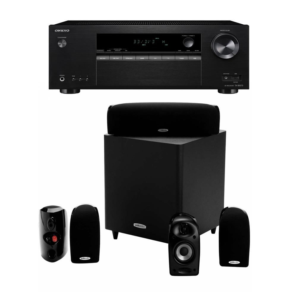 Onkyo TX-SR373 + Polk Audio TL1600