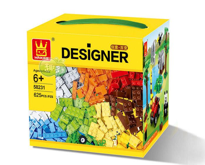เลโก้จีน Wange.58231 ชุด Designer ตัวต่ออิสระ 625 ชิ้น