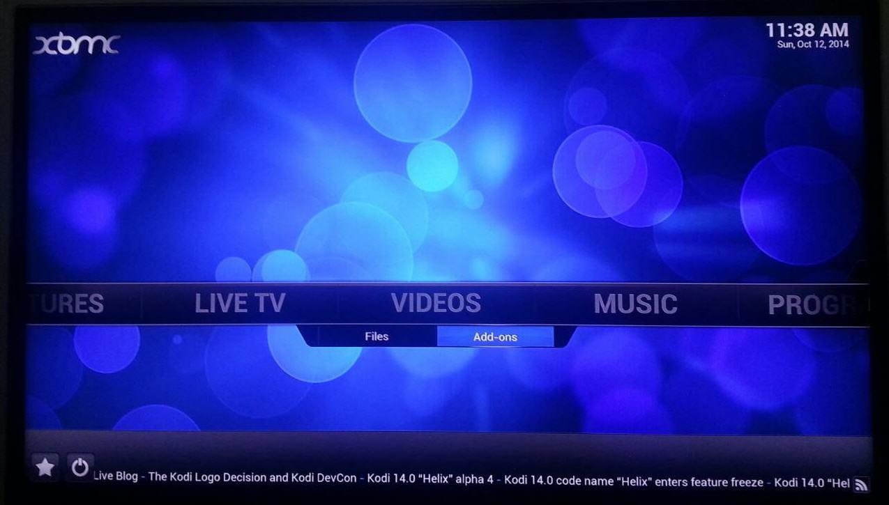 VIDEOS Add-ons