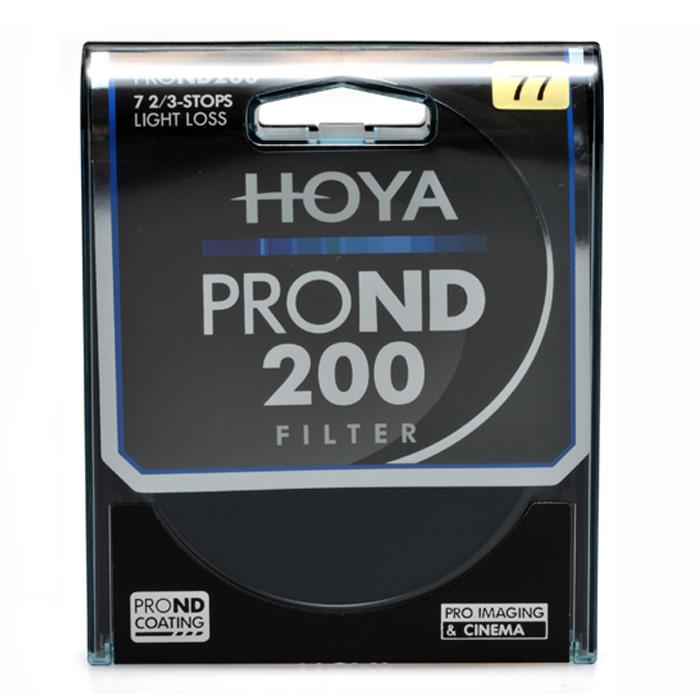 HOYA 77 mm PRO ND 200 Neutral Density 7 2/3 Stop Filter