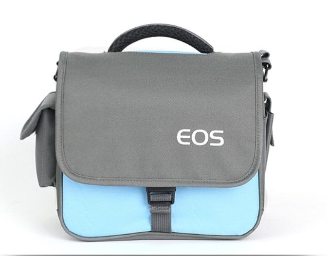 กระเป๋ากล้อง DSLR EOS waterproof camera bag สีฟ้า
