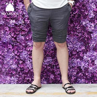 [พรีออเดอร์] กางเกงแฟชั่นเกาหลีผู้ชายไซต์ใหญ่ size 2XL - 6XL ขาสั้น - [Preorder] Plus size Men ฺKorean Hitz size 2XL - 6XL Short Pants