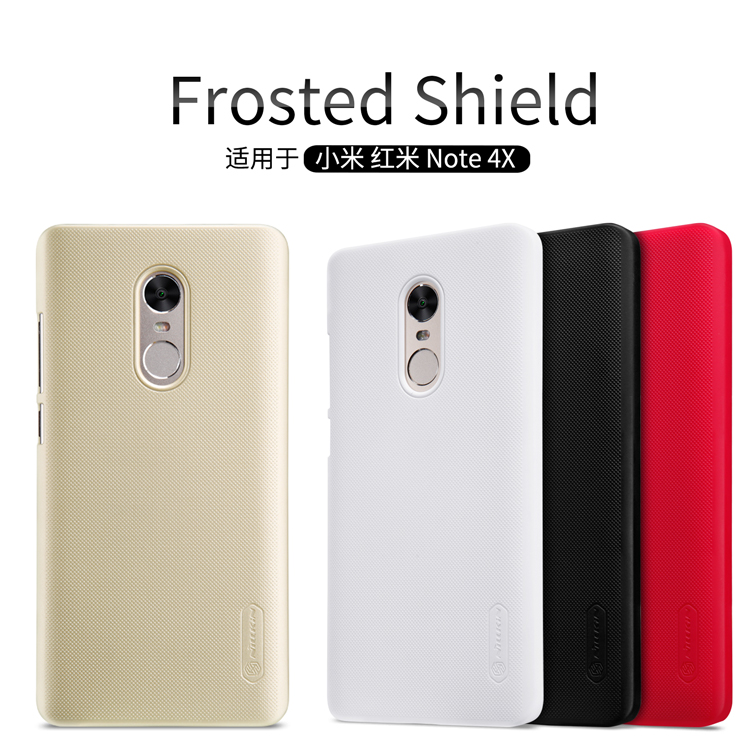 เคส Xiaomi Redmi Note 4X Nillkin Super Frosted Shield (แถมฟิล์มกันรอยใส)