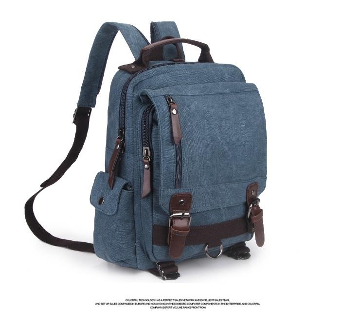 กระเป๋า Canvas Edofree สีน้ำเงิน