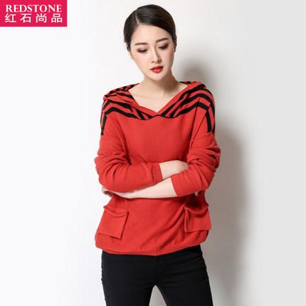 [พรีออเดอร์] เสื้้อกันหนาวพร้อมฮู๊ด แฟชั่นเกาหลีใหม่ สำหรับผู้หญิงไซส์ใหญ่ - [Preorder] New Korean Fashion Autumn Sweater for Large Size Woman