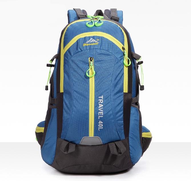 Nylon Travel hiking backpack 40 ลิตร มี 6 สี