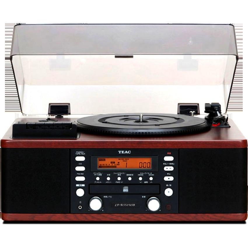 TEAC LP-R550USB Turntable, CD, USB, Cassette Tape, Radio FM AM Player Recorder