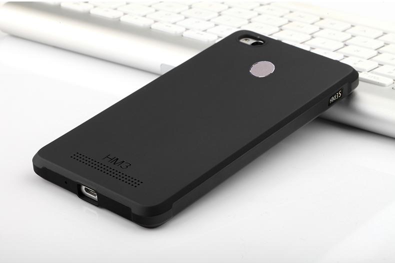 เคส Xiaomi Redmi 3S Simple TPU (Black)
