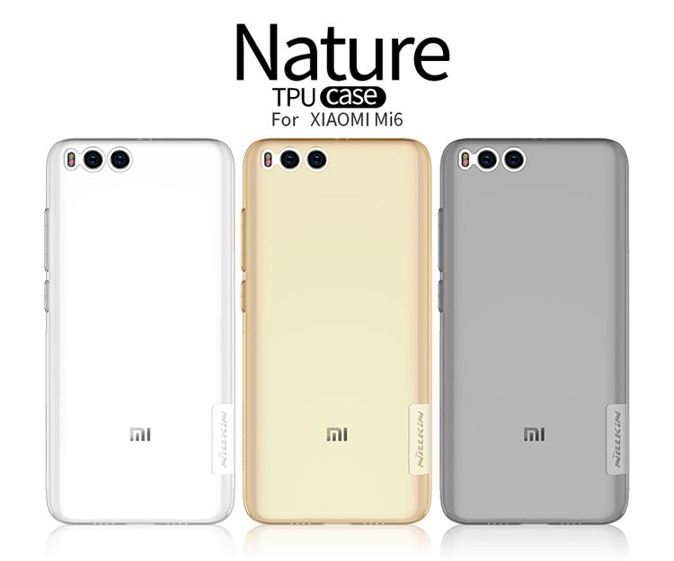 เคส Xiaomi Mi6 Nillkin TPU Case (เคสนิ่ม)