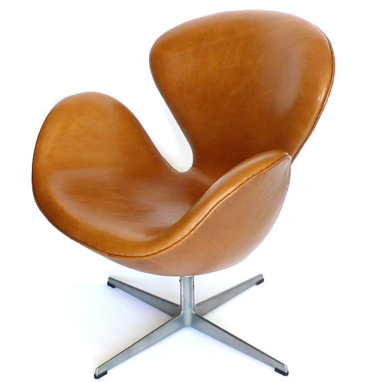 Swan chair- Italian leather