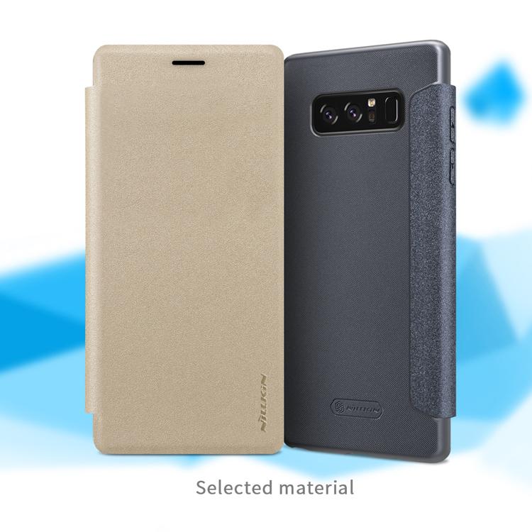 เคสมือถือ Samsung Galaxy Note 8 รุ่น Sparkle Leather Case