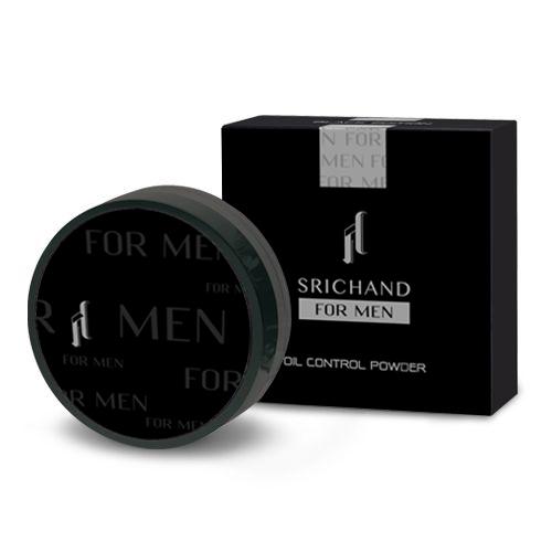 ศรีจันทร์ฟอร์เมน แบลคเอดิชั่น ออยคอนโทรลพาวเดอร์ / SRICHAND FOR MEN BLACK EDITION Oil Control Powder (แป้งฝุ่นควบคุมความมันที่ออกแบบมาเพื่อผิวผู้ชายโดยเฉพาะ)