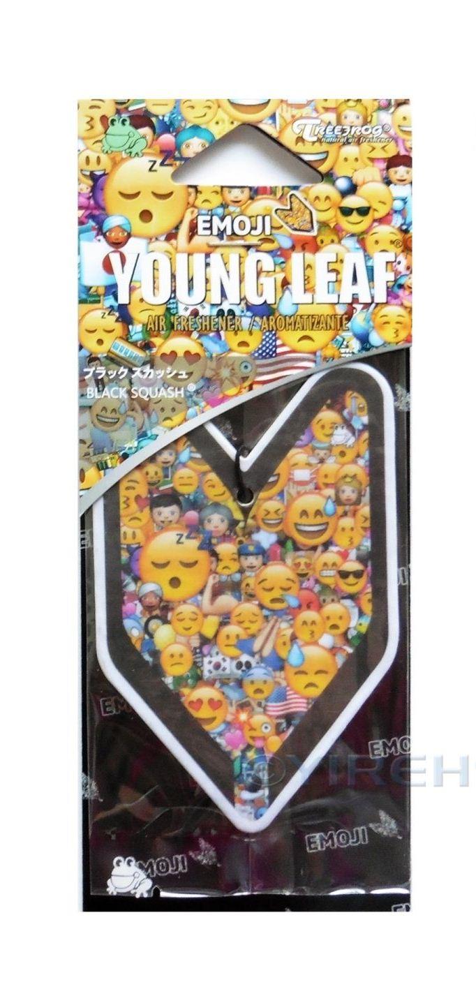 Treefrog Wakaba Young Leaf กลิ่น Black Squash (Emoji)