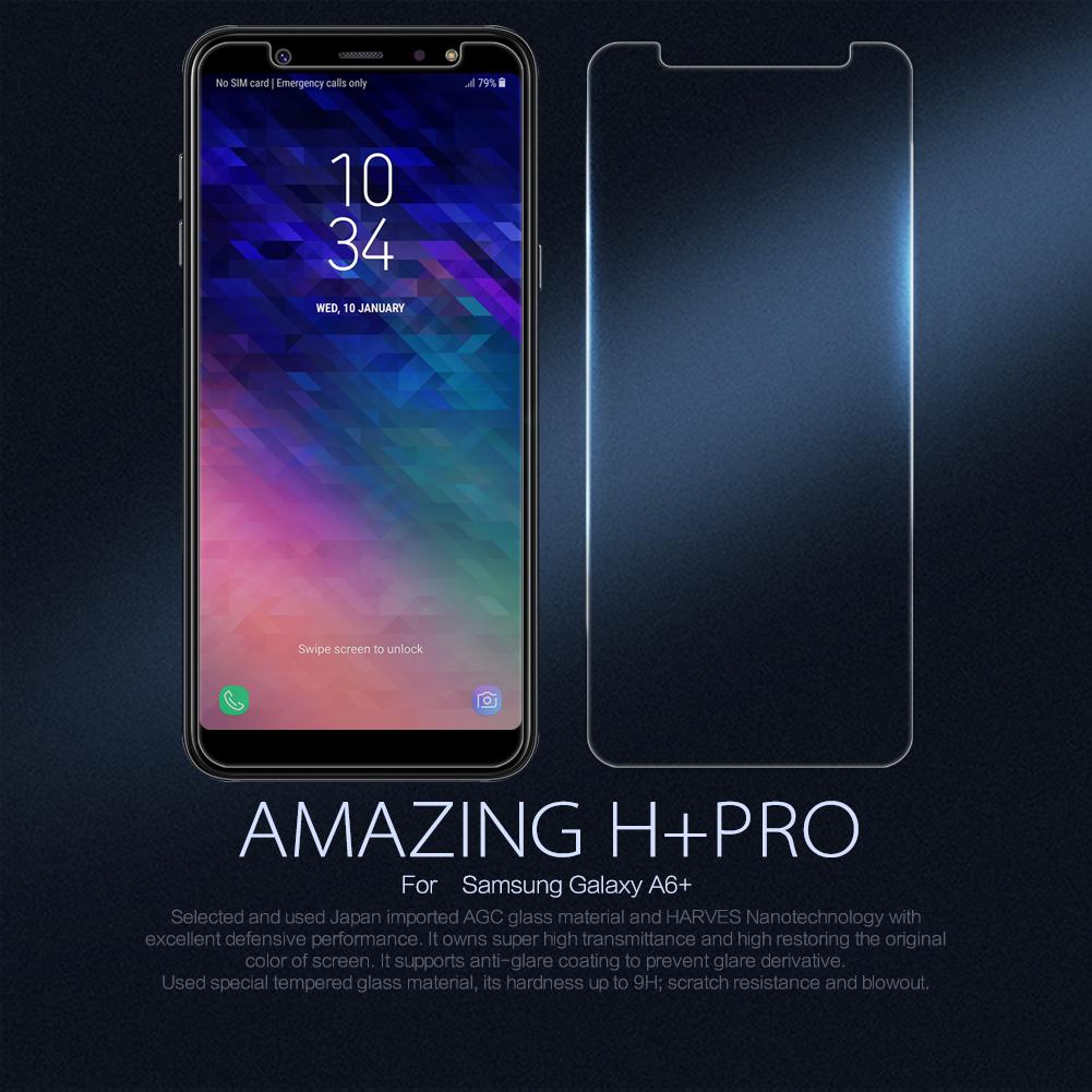 ฟิล์มกระจกนิรภัย Samsung Galaxy A6+ (A6 Plus)