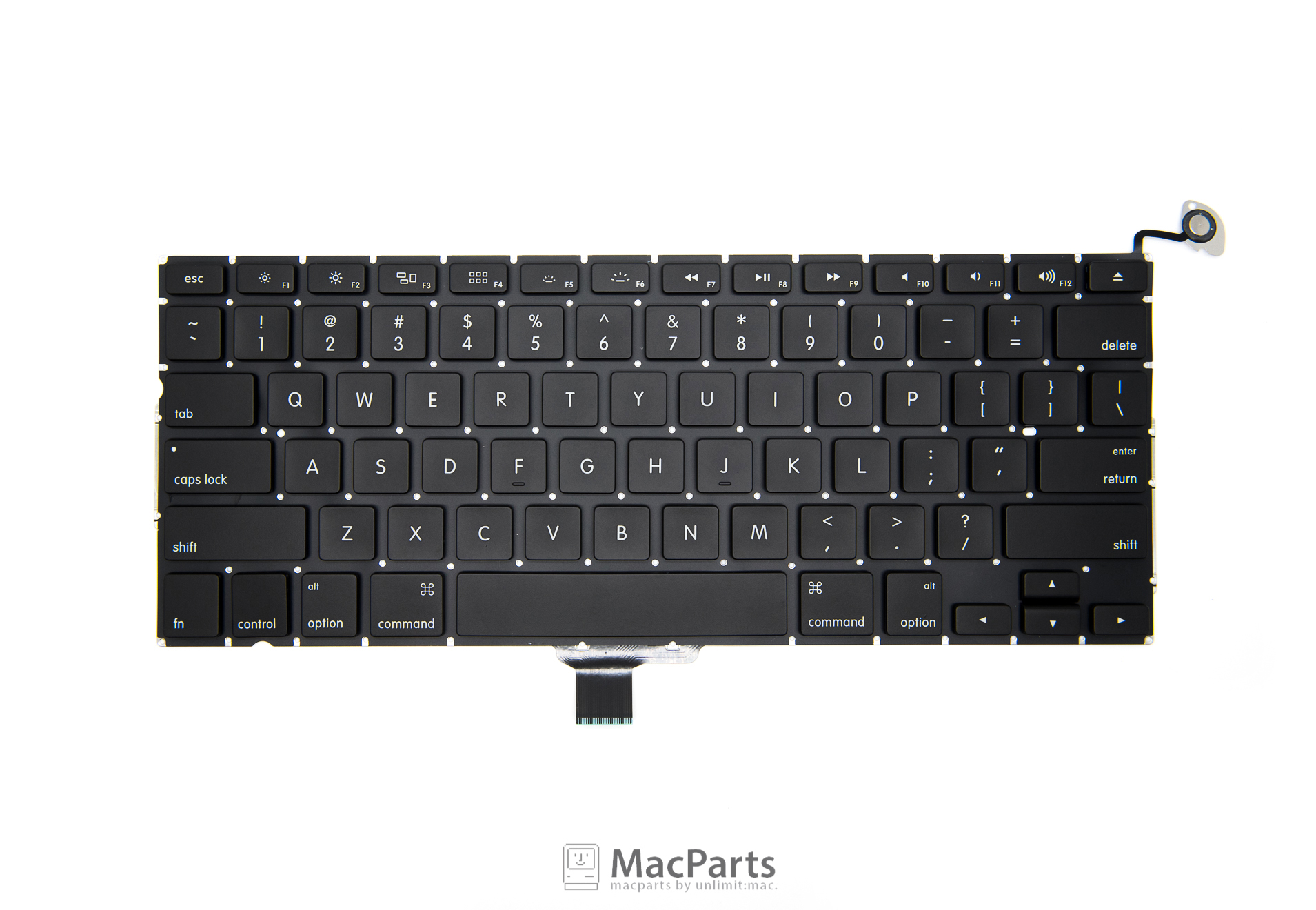 """US Keyboard MacBook Pro 13"""" SD/FW 2009 , Mid 2010 , Early 2011 , Late 2012 (A1278) 90%"""