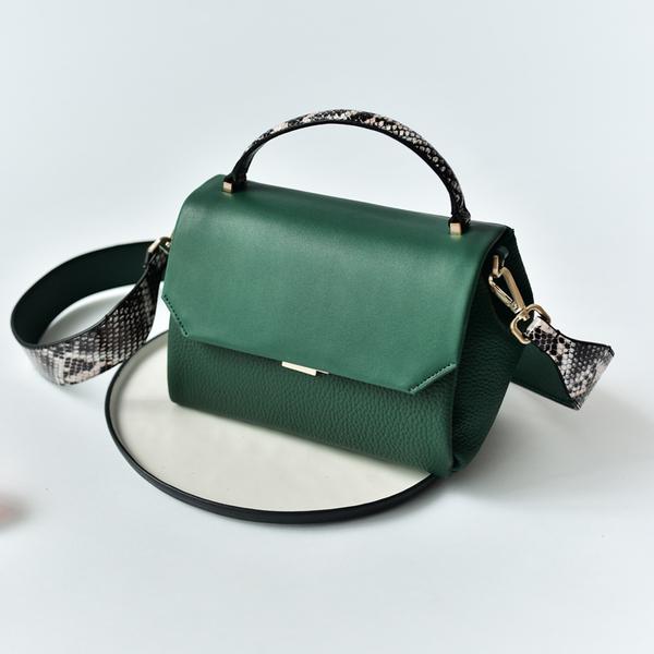 กระเป๋าหนัง รุ่น Aliza (Green)