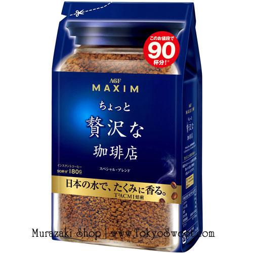พร้อมส่ง ** MAXIM Luxury Special Blend กาแฟสำเร็จรูป กาแฟแม็กซิม บรรจุ 180 กรัม (ชงได้ประมาณ 90 แก้ว)