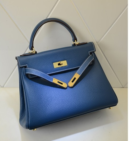 กระเป๋า hermes Kelly 28 (Turquoise)