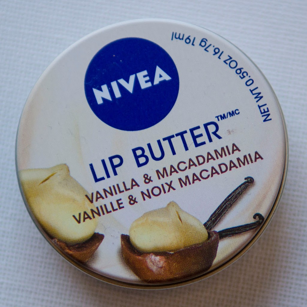 ++พร้อมส่ง++NIVEA Lip Butter Vanilla & Macadamia 16.7g