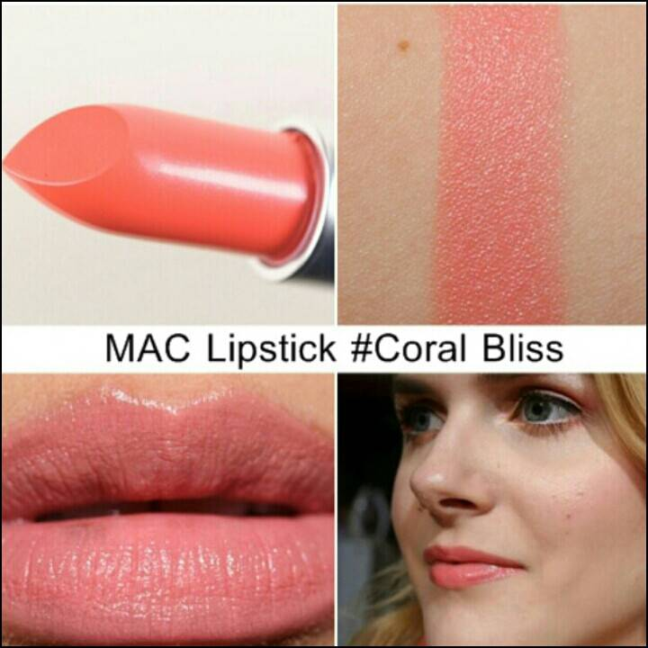 M.A.C Cremesheen Lipstick # Coral Bliss : Inspired by LnwShop.com