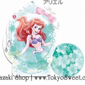 พร้อมส่ง ** Disney Princess Bloom Shower Bath Petal [Ariel - Sweet Beach] ดอกไม้หอมกลิ่นสวีทบีช มาในแพคเกจรูปเจ้าหญิงแอเรียล ใช้โปรยลงอ่างอาบน้ำเพื่อทำให้น้ำมีกลิ่นหอมอโรม่าและอ่างอาบน้ำฟองฟู่