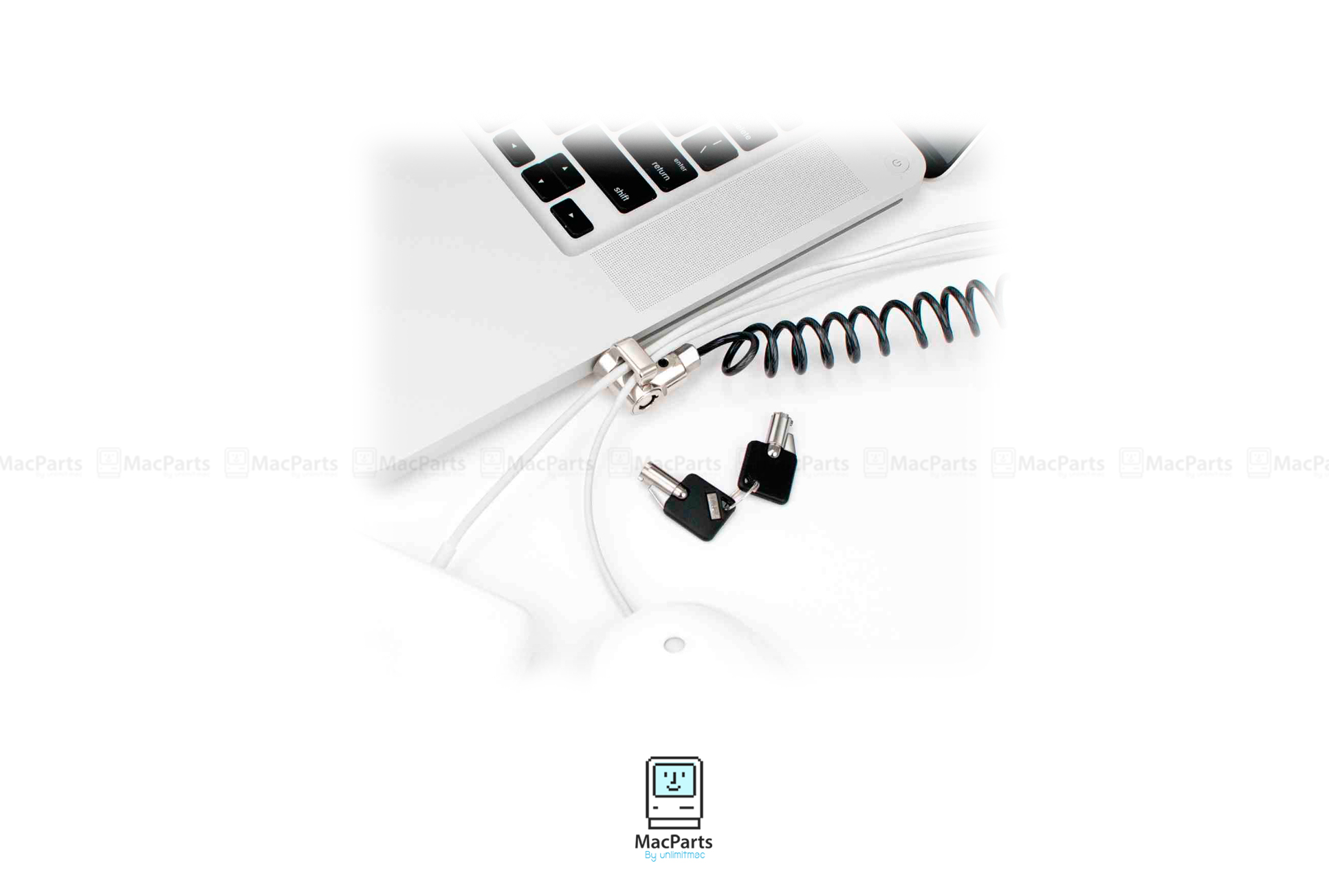 Maclocks Coiled Laptop Lock CL15C ชุดสายล๊อคเครื่อง