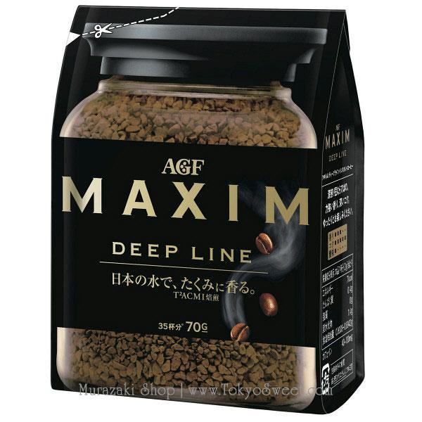 พร้อมส่ง ** MAXIM Deep Line กาแฟสำเร็จรูป บรรจุ 70 กรัม (ชงได้ประมาณ 35 แก้ว)