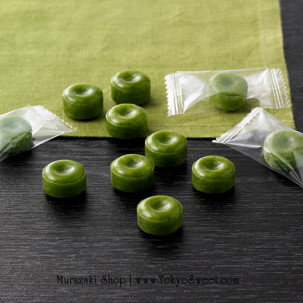 พร้อมส่ง ** Muji - Uji Matcha Candy ลูกอมชาเขียวอุจิ 45g ขนมจากแบรนด์มูจิ