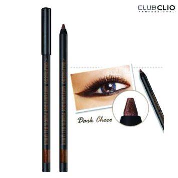 ++พร้อมส่ง++ CLIO Gelpresso Water Pencil Gel Liner No.4 Dark Choco สีน้ำตาล เนื้อเจลนุ่ม ละเอียด เขียนง่าย ติดทน มีประกายมุก สีสวย ทำความสะอาดง่าย